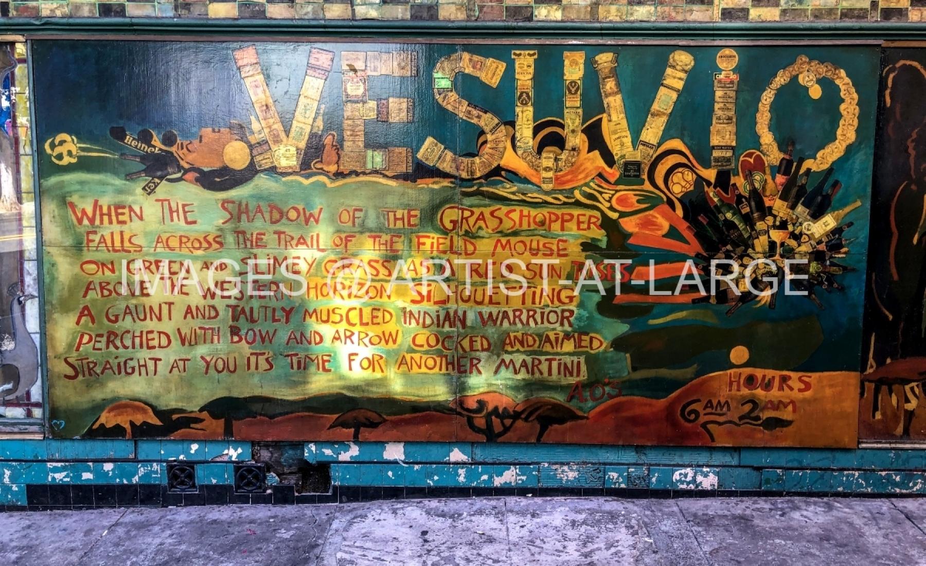 Vesuvio Is A Bar In San Francisco