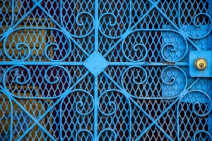 Photo Of The Day: Blue Gate